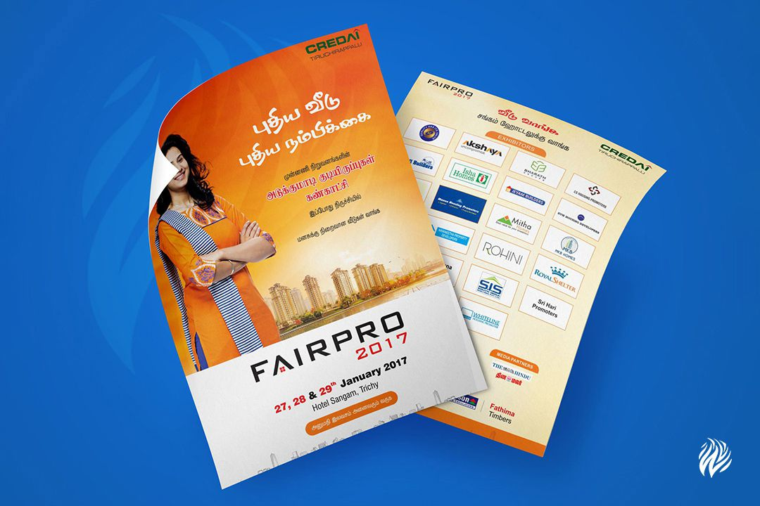 CREDAI-flyer-design-services-in-trichy-white-and-black