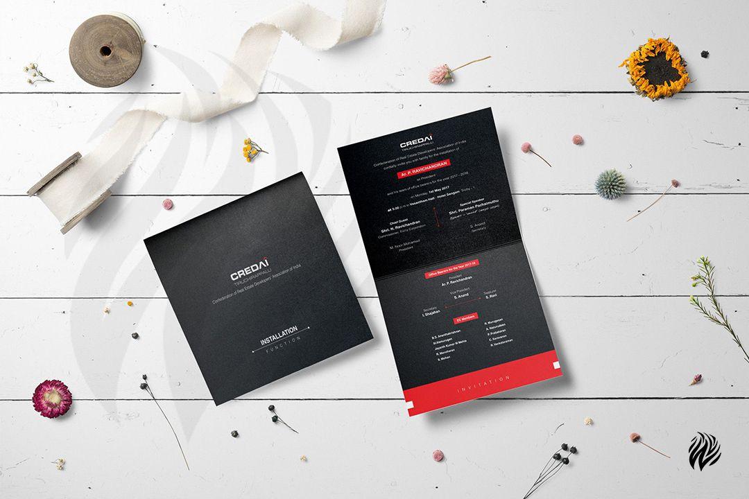CREDAI-invitation-design-services-trichy-white-and-black