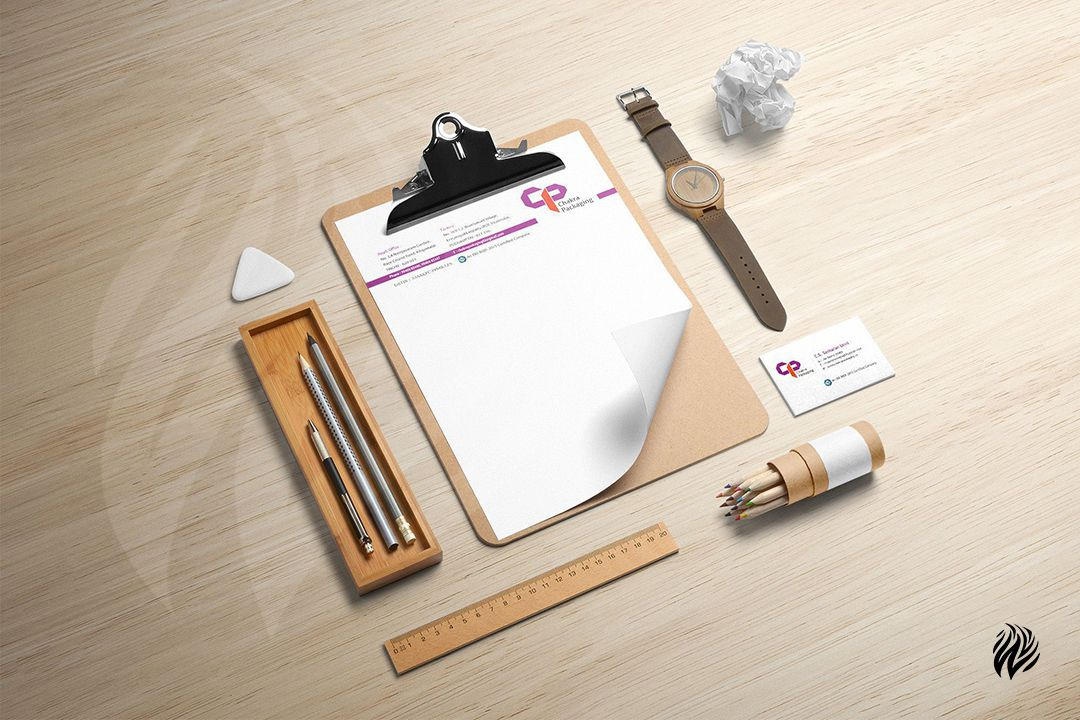 Chakra-Package-Stationery-Kit-Brand-Identity-White-and-Black-Trichy