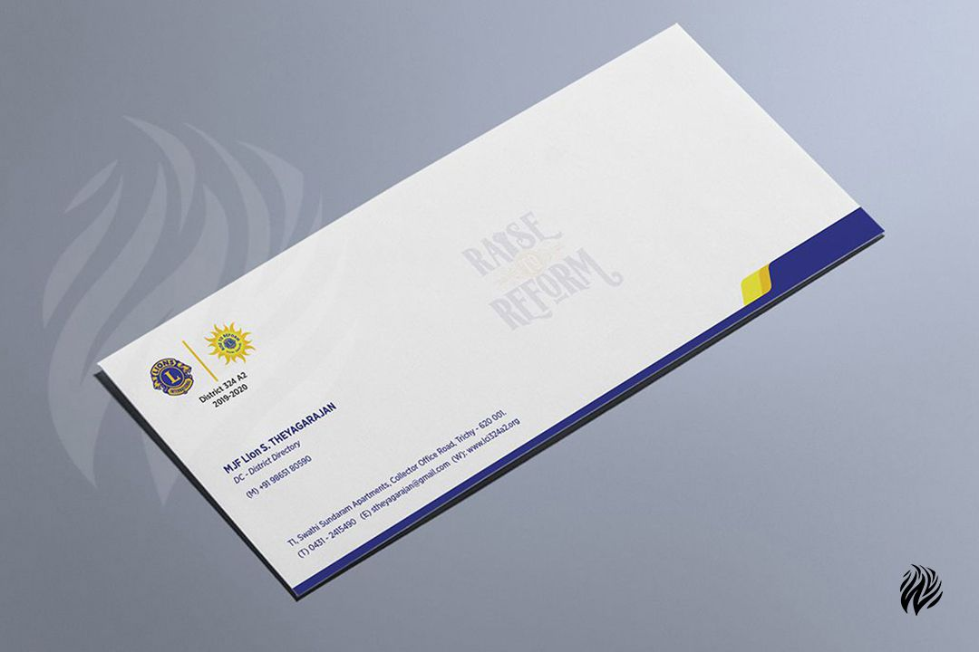 Lions-Club-envelop-card-design-services-in-trichy-white-and-black