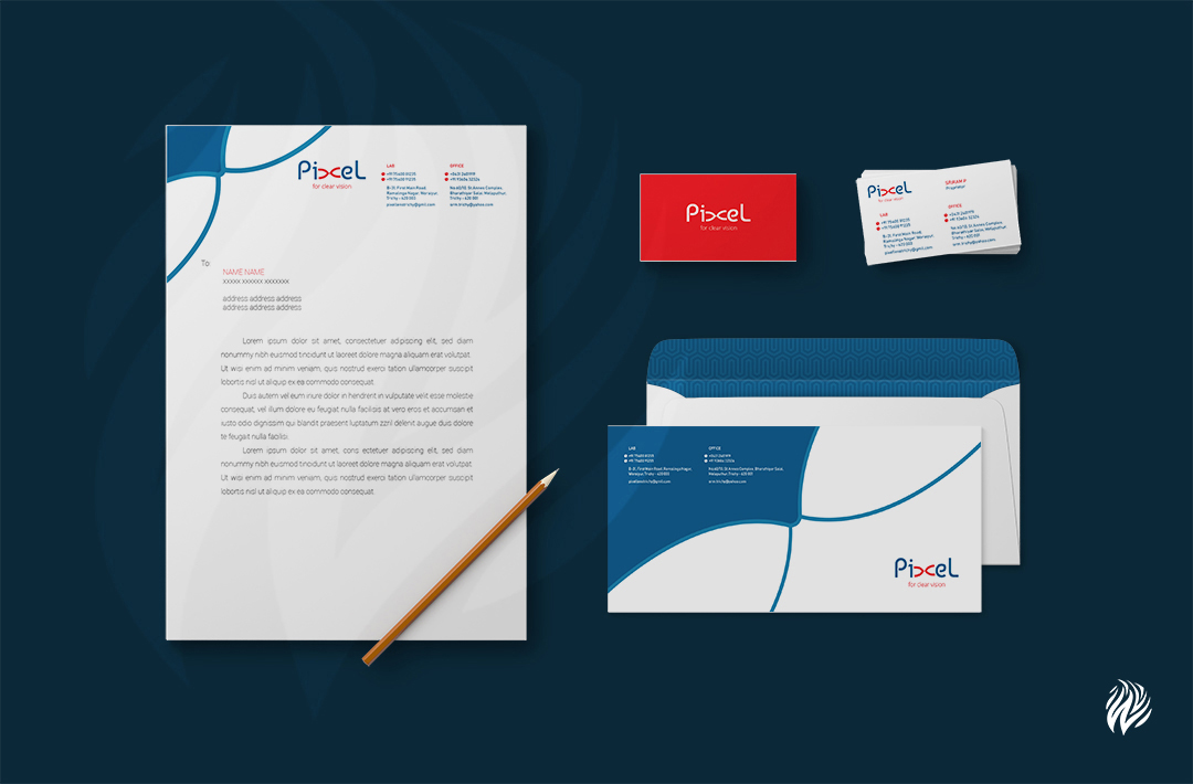 Pixels-stationery-design-white-and-black-trichy