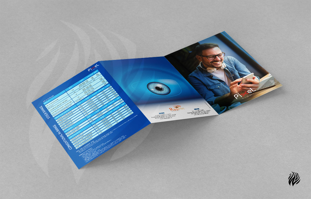 Pixels-trifold-brochure-design-white-and-black-trichy