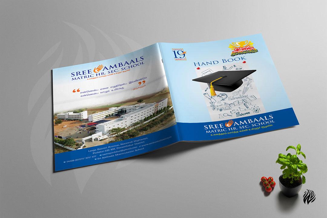 Sree-Ambaals-Matric-hand-book-design-trichy-white-and-black