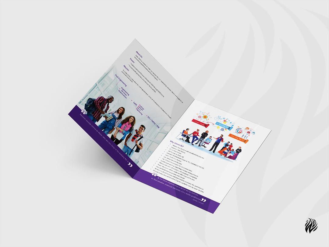 gatedesk-brochure-design-services-trichy-white-and-black