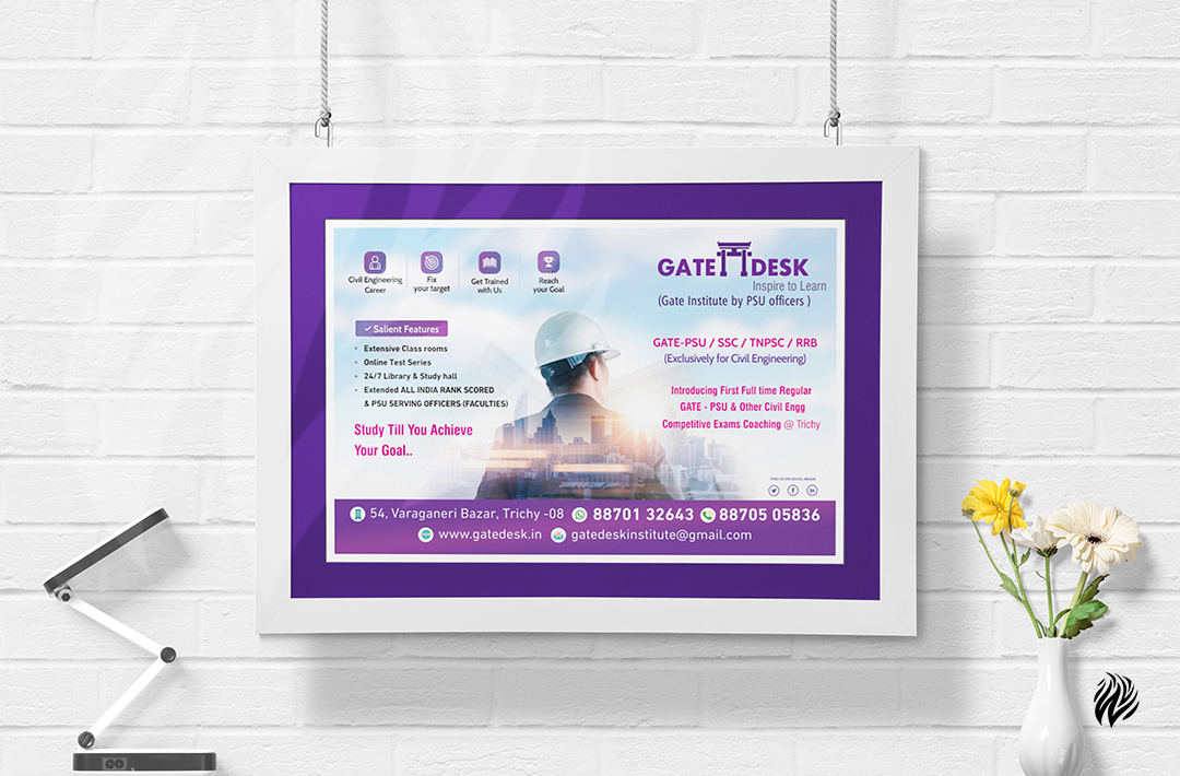 gatedesk-wall-poster-design-white-and-black-trichy